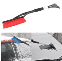 auto snow brush - Car Winter Ice Scraper Snow Brush Auto Truck Window Retractable Shovel Removal Brush Shovels Squeegee in Cleaner Tool