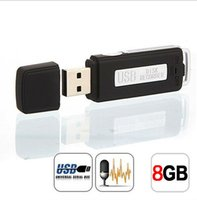 Wholesale RACAHOO GB Black digital voice recorder high sensitive long time recording voice recorder