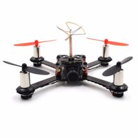 Wholesale QX80 mm Micro FPV Racing Quadcopter ARF Based On F3 EVO Brushed Flight Controller