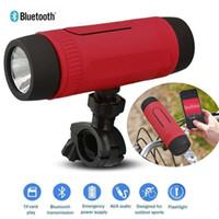 achat en gros de bon lecteur mp3-Haut-parleur Bluetooth Power Bank de Zealot S1 de bonne qualité et éclairage LED 4000mah pour sport extérieur et lecteur MP3 3IN 1 fonction