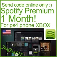 Wholesale Spotify Premium account one month month for ps4 phone XBOX PC Universal exclusive US District theflash77