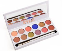 Wholesale 2017 Kylie Jenner colors Eyeshadow palette with pen Royal Peach Palette Kyshadow DHL