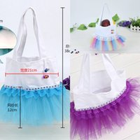 backpack custom design - 2017 New Fashion design Tulle Children Tutu Dance Bags Colorful Wedding Gifts Different Colors Custom Gifts MC0546