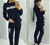 active wear suits - Sexy Oblique Shoulder Suits And Casual pants Suit Sets Sportswear Costume pc Set indoor or outdoor Comfortable Wearing