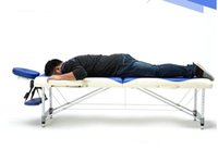 Wholesale New Arrival Portable Fold Massage Table Mixed Color Adjustable Salon SPA Therapy Tattoo Beauty Massage Bed Device with Carrying Bag