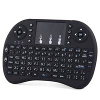 Wholesale Best Selling RII I8 G Wireless Mini Keyboard Air Mouse I8 for Android tv box X96 H96 PRO CS918 tv box
