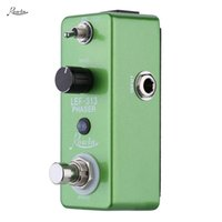 Wholesale High Quality Rowin LEF Pedal True bypass Mini Portable Guitar Effect Pedal Durable Guitar Parts Accessories