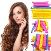 bendy hair rollers - Curl DIY Hair Curlers Tool Styling Rollers Spiral Circle Magic Roller CM CM