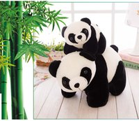 Wholesale Children toys stuffed toys the new climbing toy panda mascot plush toys genuine custom for present