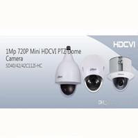 Ptz 12x España-Alta calidad 720p Dahua mini 12X ZoomHDCVI PTZ Dome cámara DWDR con alarma SD40112I-HC para el centro comercial