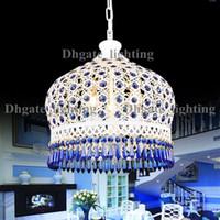 antique art deco brass chandelier - Free EMS Shipping Exquisite Handmade Bohemian Style Art Crystal Antique Brass Chandeliers Light Lamp