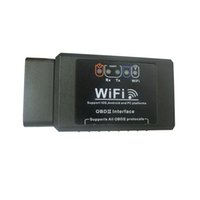 Wholesale HOT promotion Elm327 V1 wifi OBDII obd2 ios Car Diagnostic Interface Scanner for iPhone iPad iPod