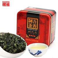 al por mayor paquetes de té verde-C-WL064 saludable 155g 10 paquetes superior chino TiKuanYin té verde, TieGuanYin Oolong té, verde alimentos regalo embalaje latas de hierro embalaje