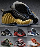 al por mayor hombres s zapatos del aire de baloncesto-Sale Air Basketball Shoes Zapatillas Hombre Mujer Azul Man One Pro Zapatos Deportivos Pearl Penny Hardaway Tamaño: 5.5-13