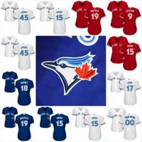 Cheap Baseball 2017 Toronto Blue Jays Jersey Best Women Short Ezequiel Carrera Jerseys