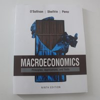 Wholesale Macroeconomics Principles Applications and Tools th Edition text books for students paperback books