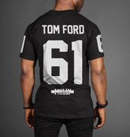 amazon t - Amazon tom ford mollyRare t shirt size S XL2 colors cotton men summer round collar short sleeve