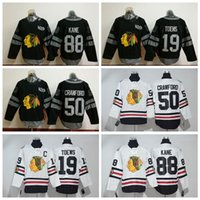 Wholesale Chicago Blackhawks Patrick Kane Winter Classic Mens Jerseys Jonathan Toews Corey Crawford Black th Ice Hockey Jerseys