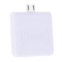 Wholesale Mini Portable RFID KHz Proximity Smart EM Card USB ID Card Support Reader Win8 Android OTG SmartPhone R65D