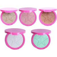 Wholesale New highlighter glow kit makeup bronzer iluminador maquiagem cosmetics powder for face skin frost five star