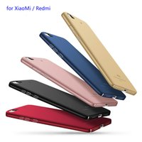 Wholesale Original MSVII for Xiaomi Mi s MAX Redmi Pro A S Pro Note Ultra Thin Slim Matte PC Hard Cover Cell Phone Case Shockproof