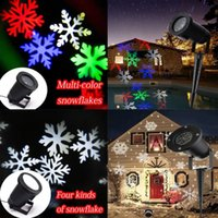 Wholesale outdoor led christmas lights christmas decorations snow Halloween Christmas Projection Lights Rotating LED Lamp Party Holiday Decoration