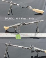 Wholesale Zinc Metal Model Material DP MG3 MG42 Light Machine Gun Model Military Fans First Collection Hot Sell Desk Decoration