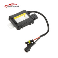 al por mayor xenon 55w dc-DC12V 55W Car Xenon HID Replacement Digital DC Lastro Ultra Slim Todas las bombillas Fit Fuente de luz de coche