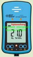 Wholesale- Smart Sensor AS8901 Détecteur de gaz Oxygen d'ordinateur de poche Tester Monitor Gamme 0-25% Li-battery AS-8901