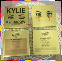 best pressed powder makeup - best Christmas gift Hot in stock New Makeup Eyes gold Kylie KyShadow eyeshadow Pressed Powder Eyeshadow Palette Mini Colors Eyeshadow