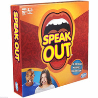 best quality tv - Hot Speak Out Game KTV party game cards for party Christmas gift newest best selling toy high quality