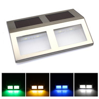 Wholesale Solar Power SMD LED Dock Path Pathway Step Road Safety Marker Signal Lights