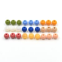 Wholesale 9mm Loose silicon beads for teething necklace Food grade Safe DIY beads BPA FREE