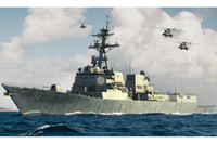 Wholesale Ship Assembly Model US Navy DDG Forrest missile destroyer warship Assembly model