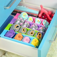 Wholesale Multifunctional Socks Underwear Plastic Storage Box Stationery Tableware Organizer Cosmetics Makeup Container Colors