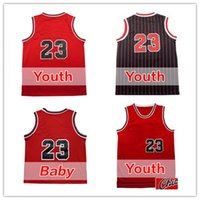 Unisex baby michael - 2017 Cheap Youth Kid Michael Basketball jersey child Mesh Michael Jordans jersey Baby Embroidery Logos jerseys