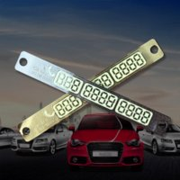 Whole Body auto numbers - octilucent Car Sticker Auto Temporary Parking Phone Number Card Sucker Car styling nbsp Automobiles Exterior Accessories Supplies wholes