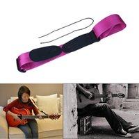 Venta al por mayor - correa de la correa del bajo de la guitarra eléctrica acústica ajustable de nylon grueso fino de la PU de la alta calidad O24