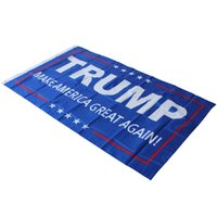 Wholesale Factory Price cm Donald Trump x5 Foot Flag Make America Great Again Donald for President USA