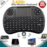 Wholesale 2 G Mini Wireless Keyboard W Touchpad For KODI Android M8S TV Box PC Laptop