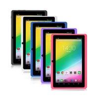 ¡DHL-Libre! La cámara dual del androide 4.4 512MB 8GB 1024 * 600 de Wifi de la PC de la tableta de la base del patio de Q88 ALLWINER A33 de IRULU libera el envío