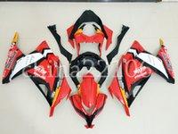 best motorcycle fairings - 4 Free Gifts New Motorcycle Parts ABS Fairing kits Fit for kawasaki Ninja300 EX300 bodywork set red black best