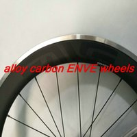 best bicycle rims - Best quality V shaped mm aluminum rim road bicycle carbon wheels k clincher matt finish wheels white decal carbon wheels