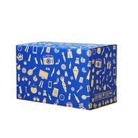 Wholesale standard transportation storage carton kraft box with printing multiple size selection