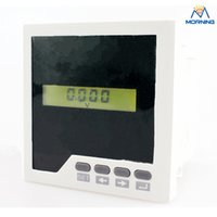 Digital Only AC Electrical High quality ME-AV3Y LCD display digital only AC 220V China voltage meter panel meter 96*96 mm
