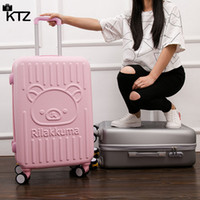 Wholesale Children Trolley Case spinner Cartoon suitcase Men and women students suitcase Boarding box Cute and fashion