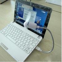achat en gros de ordinateurs minis-Mini USB Fan-001 Refroidissement pour ordinateur portable Ordinateurs de bureau 2 feuilles flexibles USB Gadget Fans DZ0001