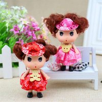 Wholesale 9 cm hat confused doll fashion girl pendant wedding package sugar baby gift manufacturer