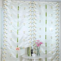 Wholesale High Quality Modern High grade Pulling Curtain Balloon Embroidery Curtains Rome Curtains Home Decoration width m