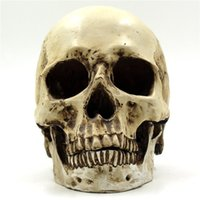 Wholesale Halloween Tricky Spoil Resin Flower Skull House Props Bones Decorated Bar Party Domitary Office etc